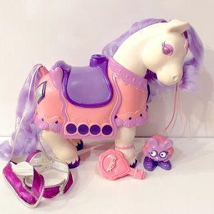 Vintage 80s Tonka Keypers Pony Diamond Horse Keepers My Little Pony